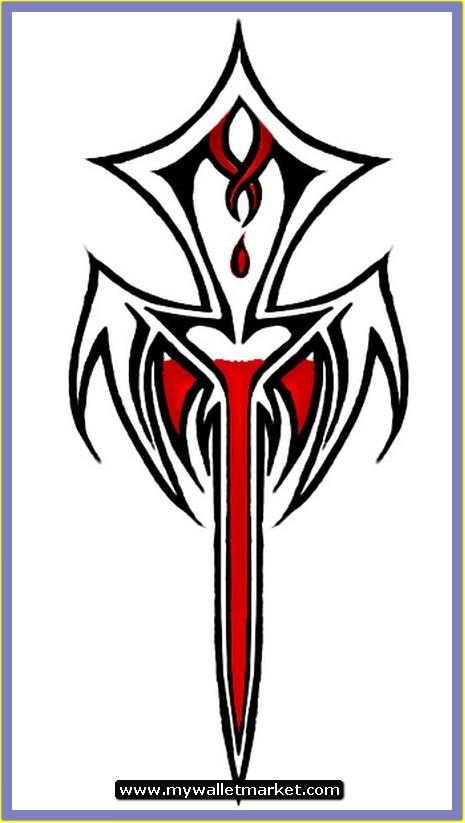 Ankh Tattoo Design Angel Wrings Black Tribal Tattoos Designs Ideas