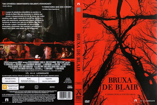 Capa DVD Bruxa de Blair