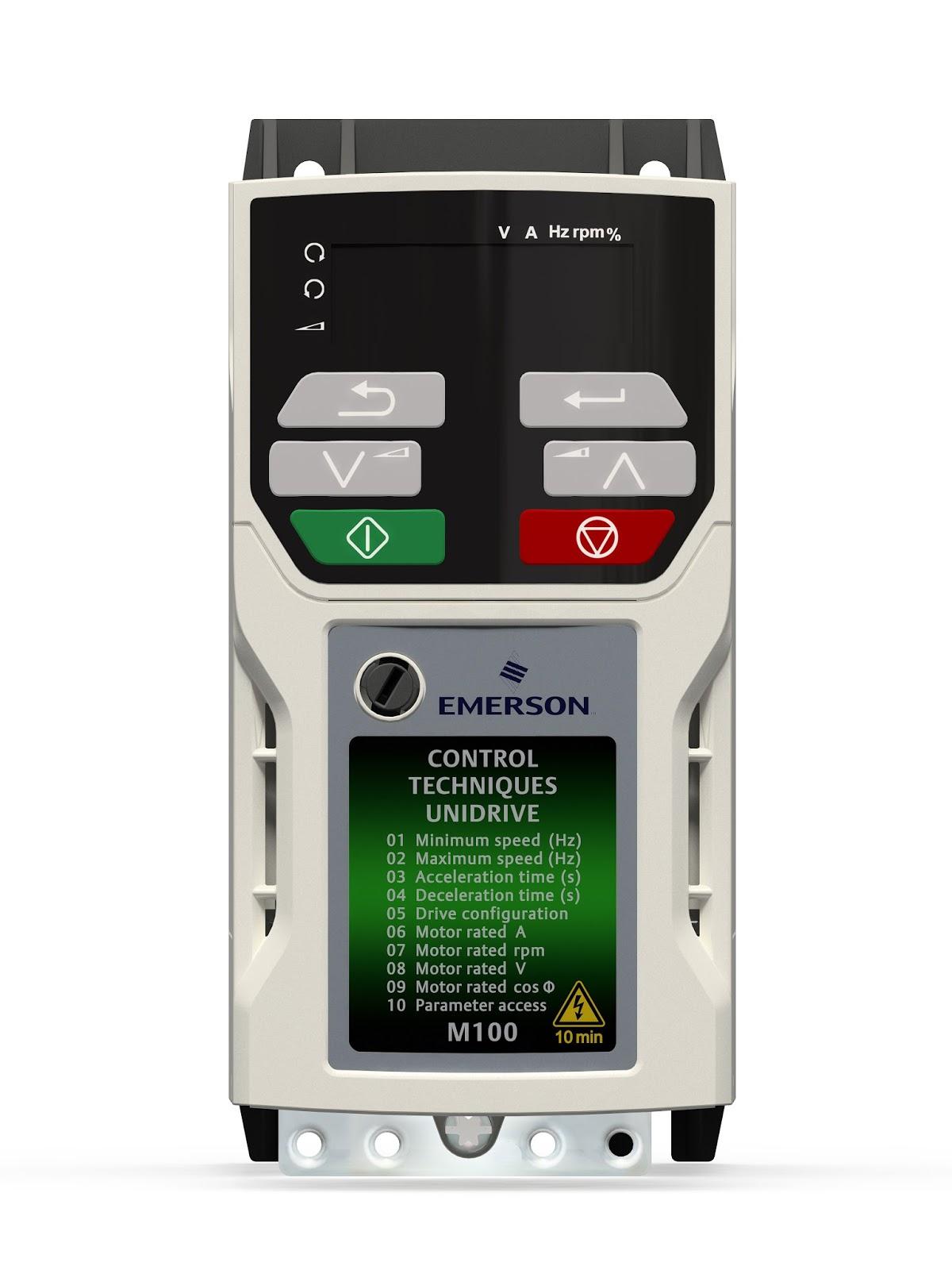 Automation Jaya Jual Inverter Emerson Unidrive Ready Stock