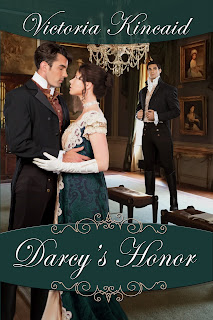 Book cover: Darcy's Honour by Victoria Kincaid