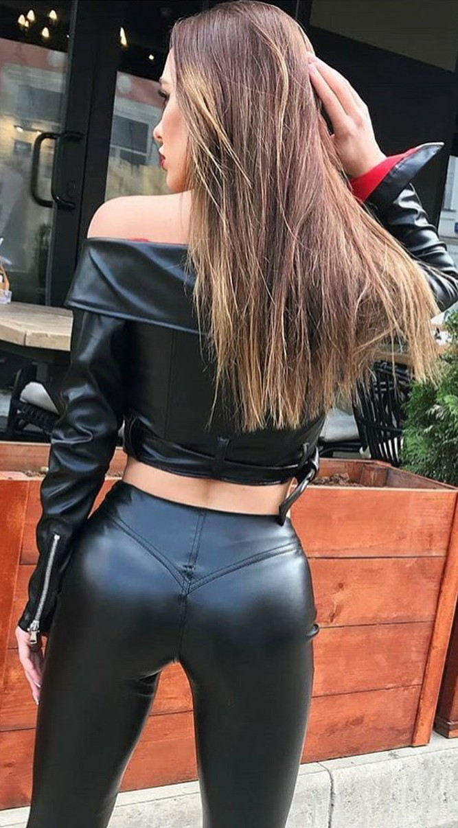 Leather asses