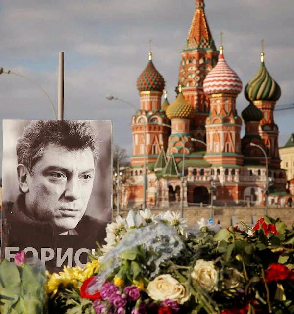 O estranho assassinato do opositor Boris Nemtsov no centro de Moscou faria parte da nova onda de repressão.