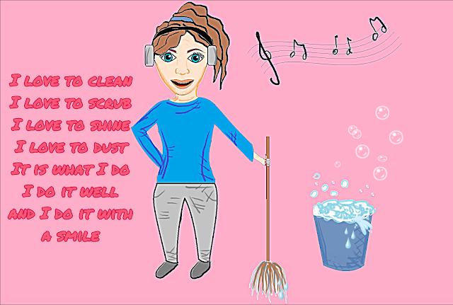 motywacja do sprzątania