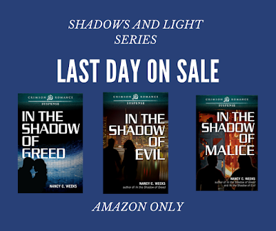REMINDER--LAST DAY FOR SHADOWS AND LIGHT SERIES SALE