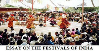 ESSAY ON THE FESTIVALS OF INDIA