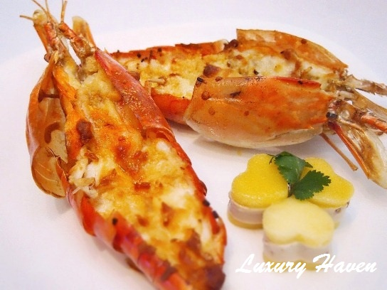 oceana seafood baked cheesy river prawns recipe
