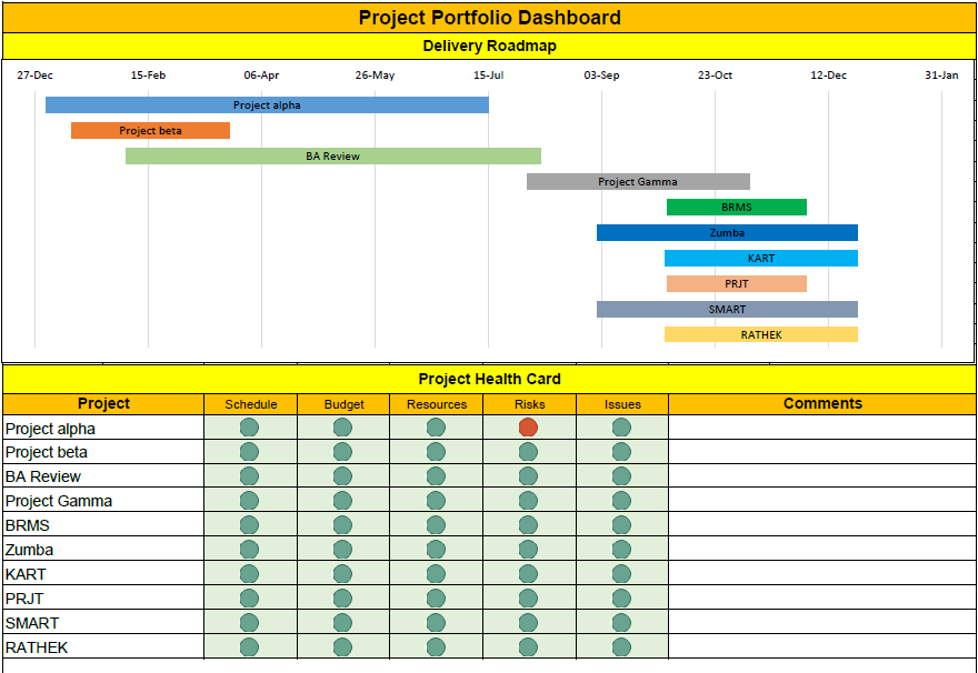 Excel Template Download