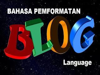 Cara Mengatur Bahasa dan Pemformatan Pada Blog