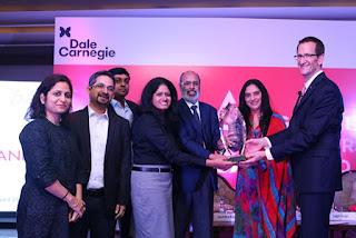 Axis Bank Wins Dale Carnegie Global Leadership Award 2017