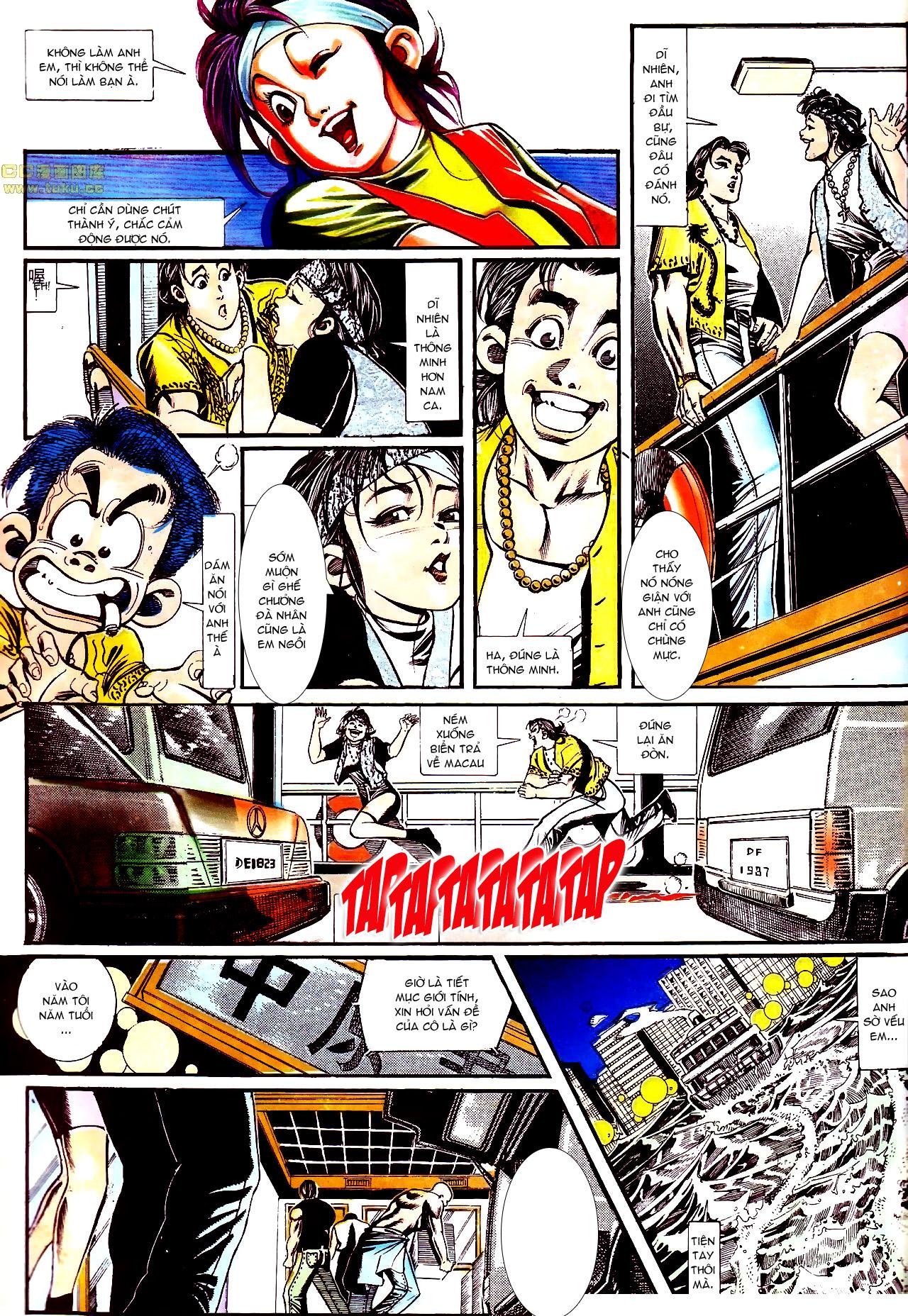 Người Trong Giang Hồ chapter 158: bang phái thanh trừng trang 5