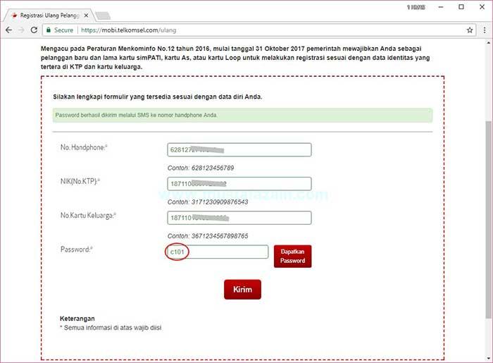 Cara Registrasi Ulang Kartu Prabayar SimPati dan AS