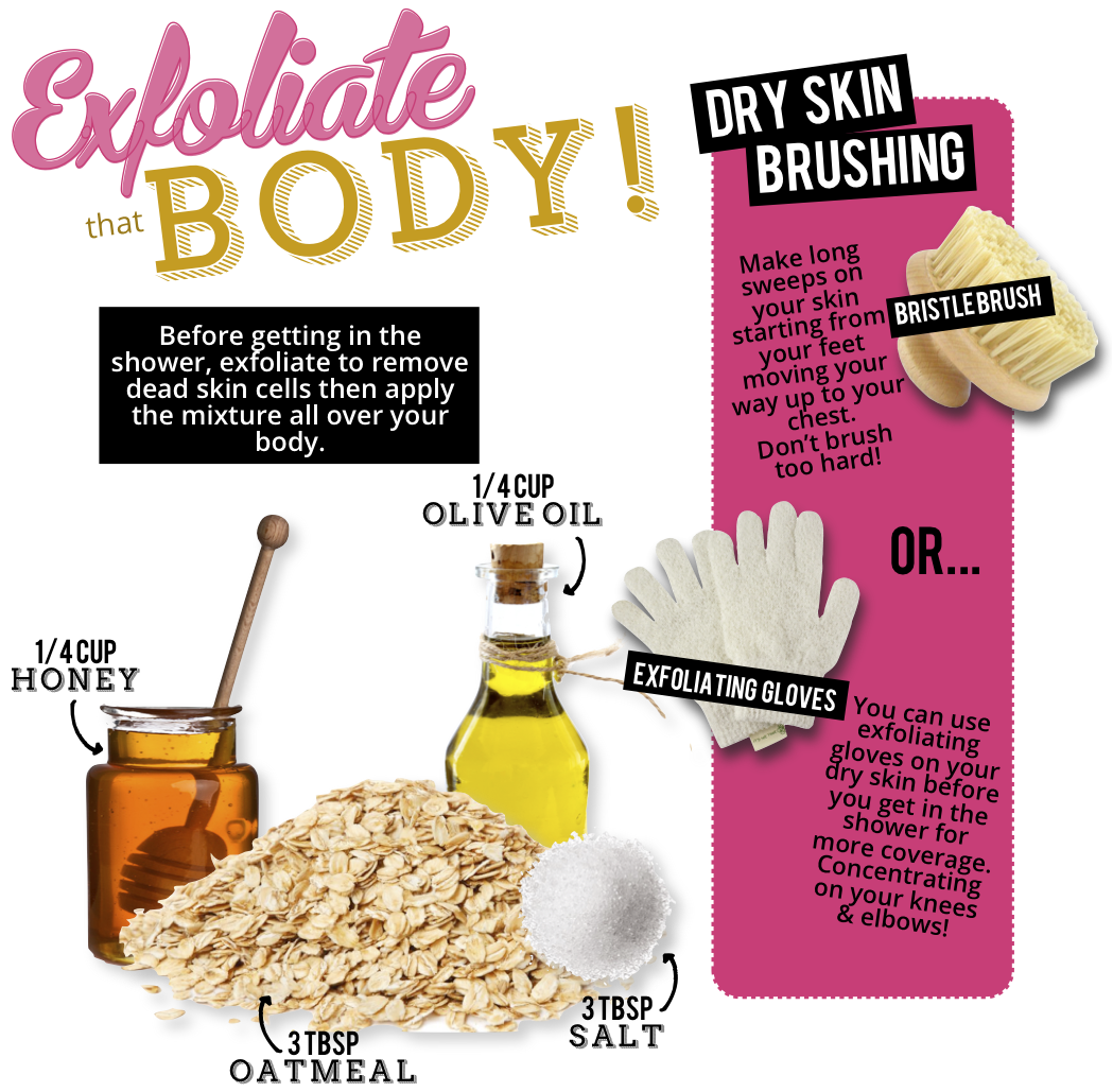 How To Get Rid Of Cellulite, What is Dry Brushing, Tanvii.com