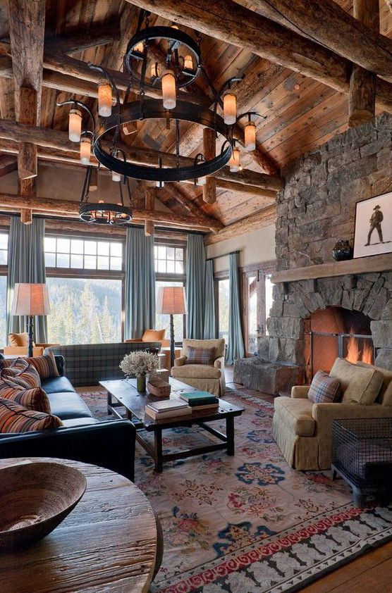 do curtains work in cabins and mountain