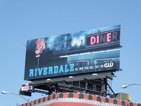 Riverdale season 2 teaser billboard