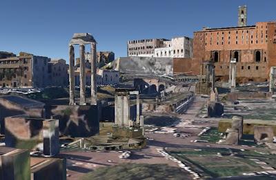 Храм Весты, Форум, Рим, Италия.