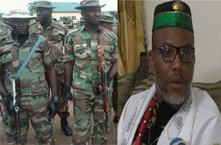 Nnamdi Kanu not in custody of Military— DHQ