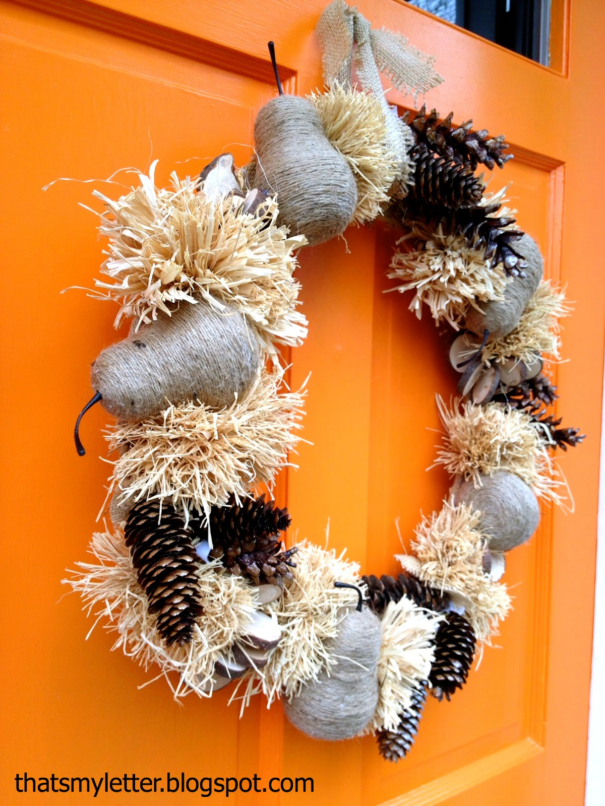 that 39 s my letter w is for winter wreath. Black Bedroom Furniture Sets. Home Design Ideas
