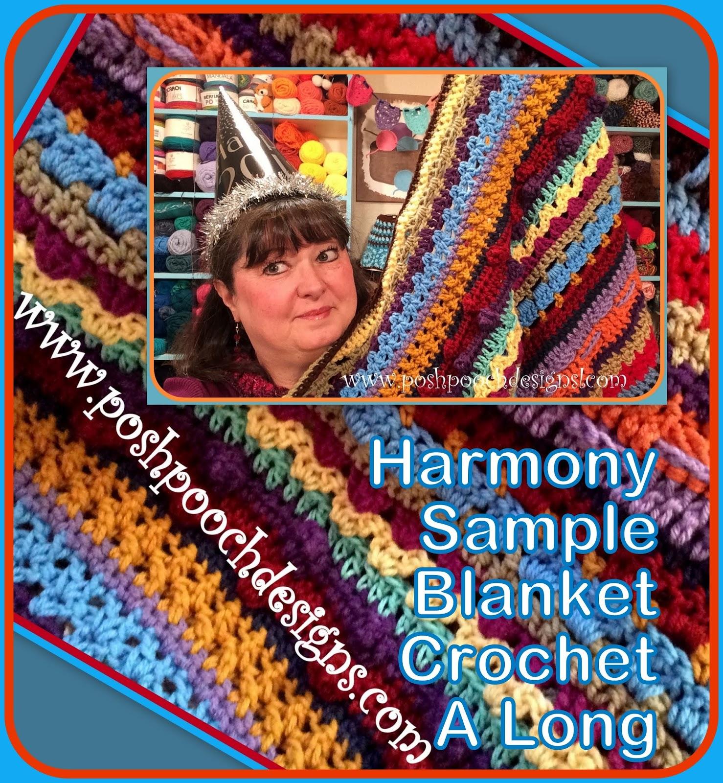 Posh Pooch Designs Dog Clothes: Harmony Sample Blanket
