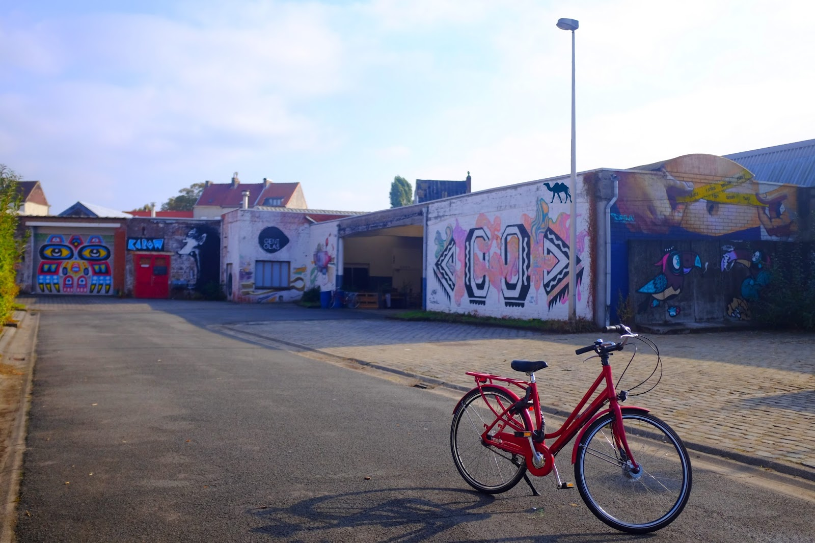 Le Chameau Bleu - Blog Voyage Gand Belgique - Gent Glas- Belgium  Street Art à Gand