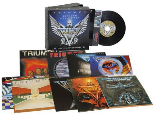 TRIUMPH - Diamond Collection [Ltd. Edition 10-CD Box Set remastered] discs