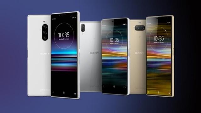 SONY UPCOMMING SMARTPHONES Sony Xperia 1,Sony Xperia 10,Sony Xperia 10 Plus..