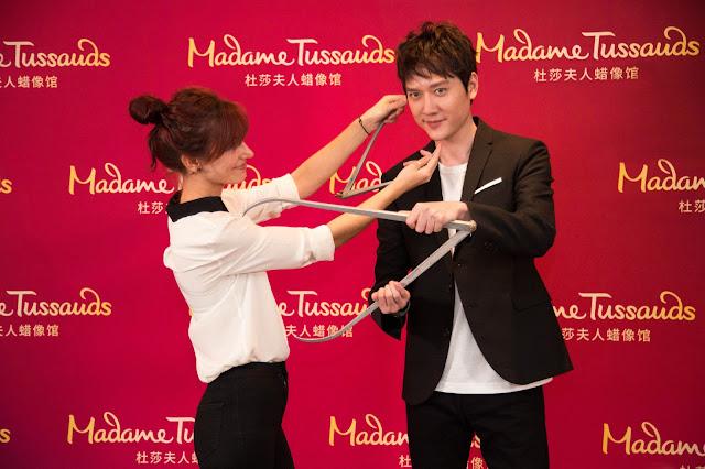 Feng Shaofeng Madame Tussauds Shanghai