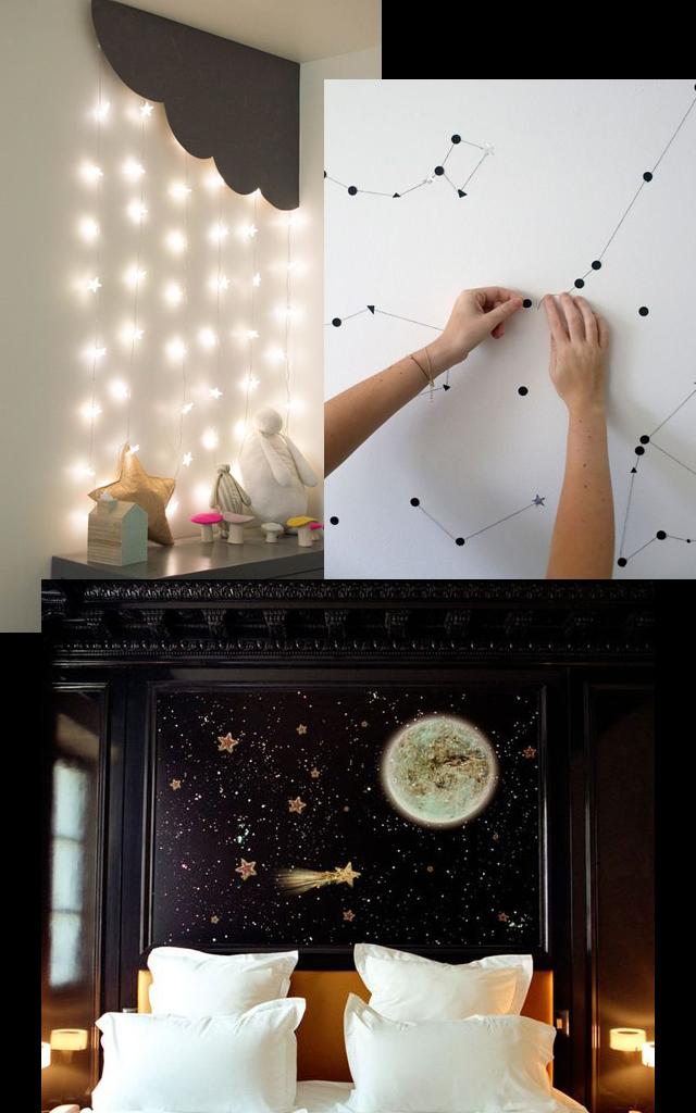 10 inspirações de decoração com objetos que remetem à astrologia