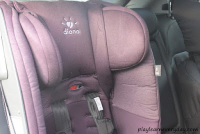 diono radian 5 in the car