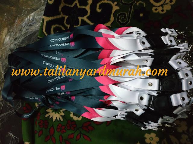 Supplier tali lanyard termurah di Jakarta