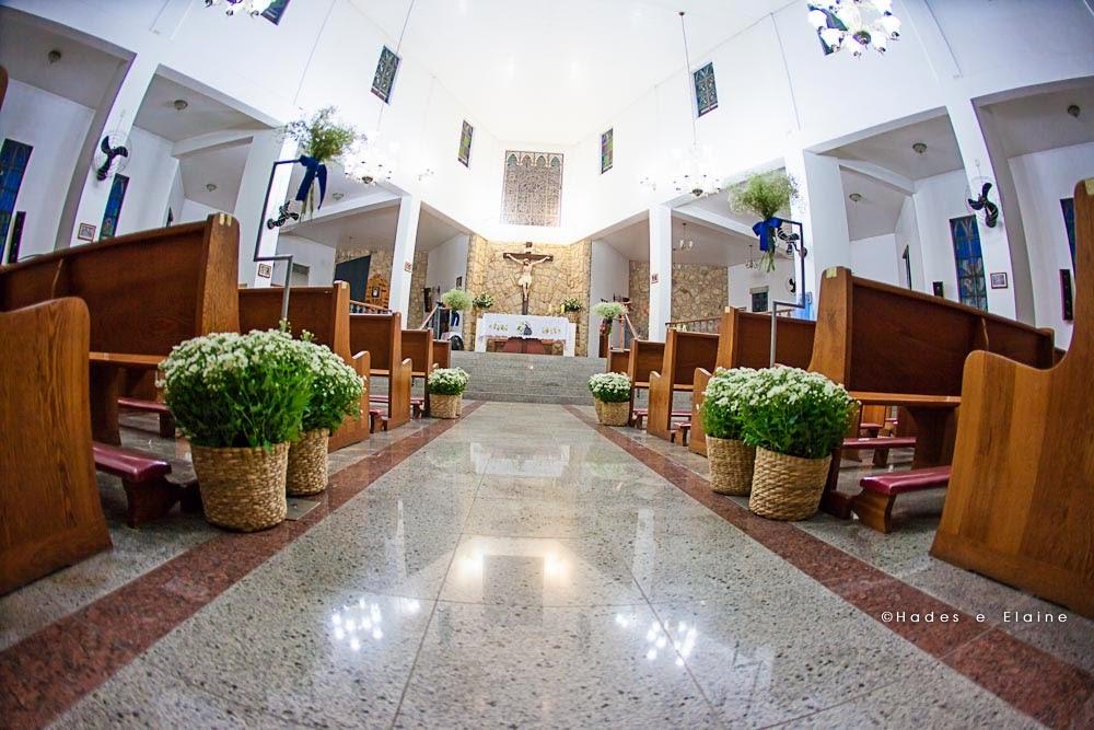 cerimônia - decoração - igreja