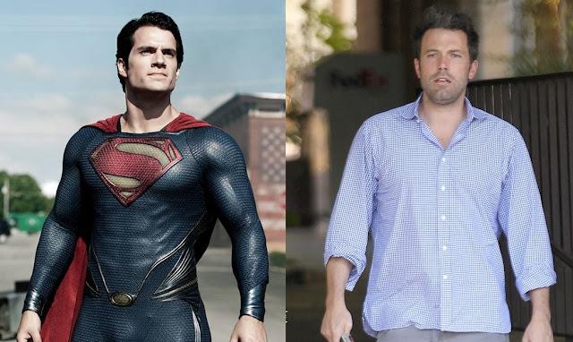 El hombre de acero y el nuevo Batman
