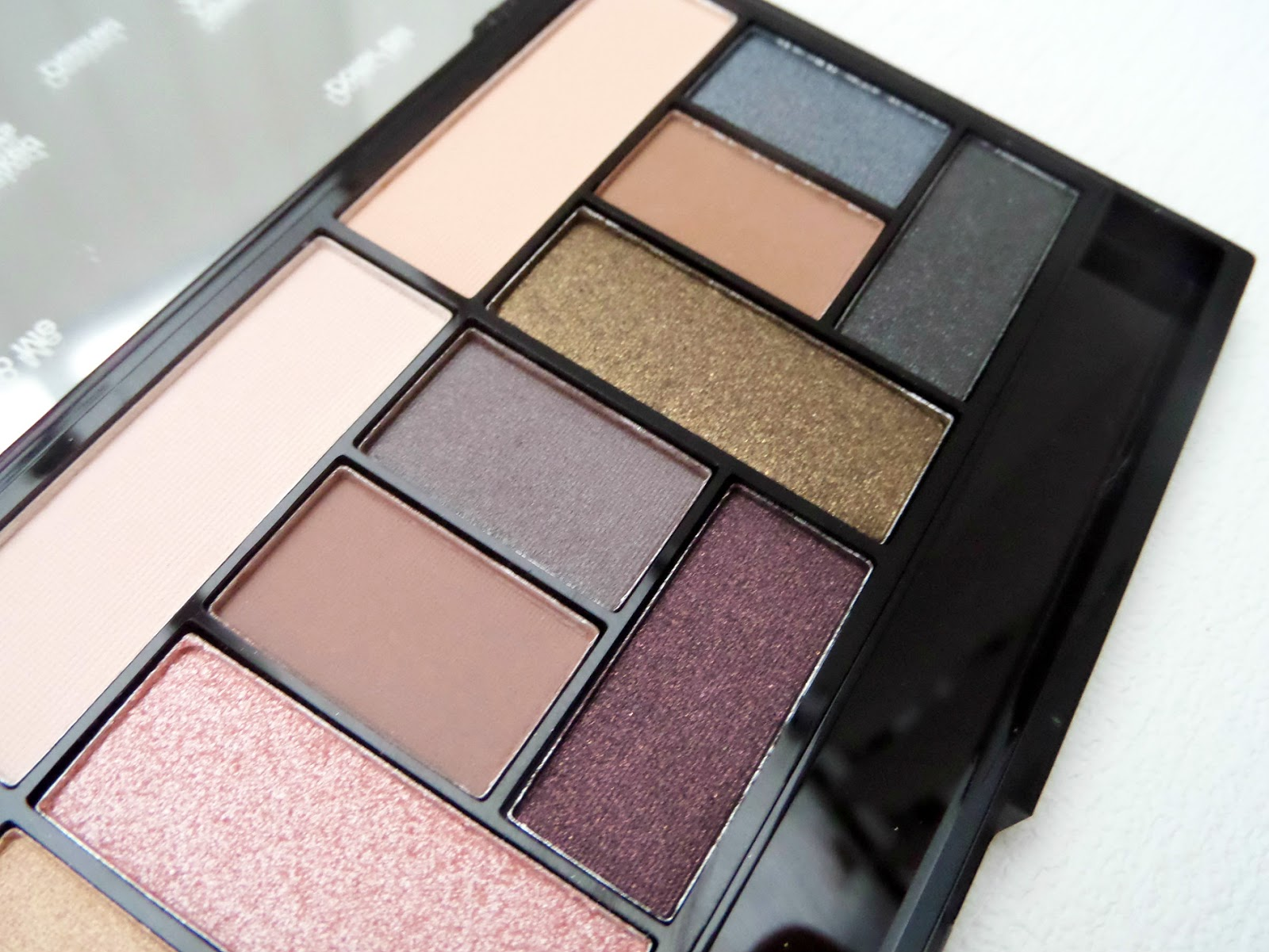 Makeup Revolution Pro Looks Stripped & Bare Palette  Close UP