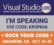 Visual Studio LIVE! Anaheim