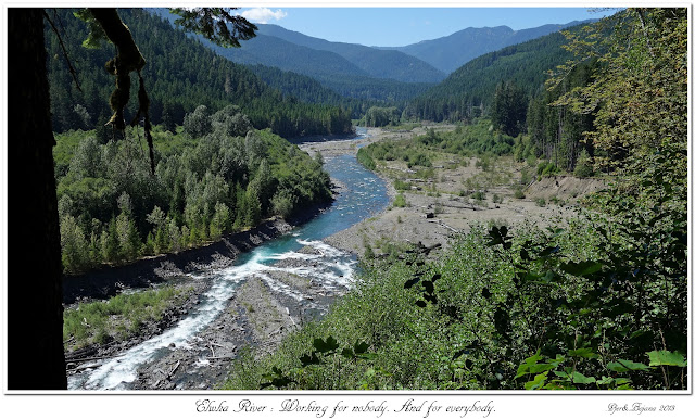 Elwha River: Working for nobody. And for everybody.