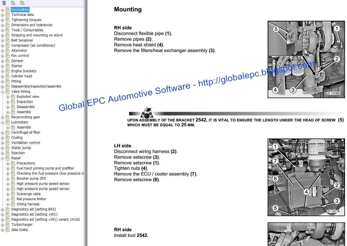 Global Epc Automotive Software Renault Kerax Workshop Service Engine Diagrams Manuals And Wiring Want To Buy It For 15 Email Us Globalepcyandexcom
