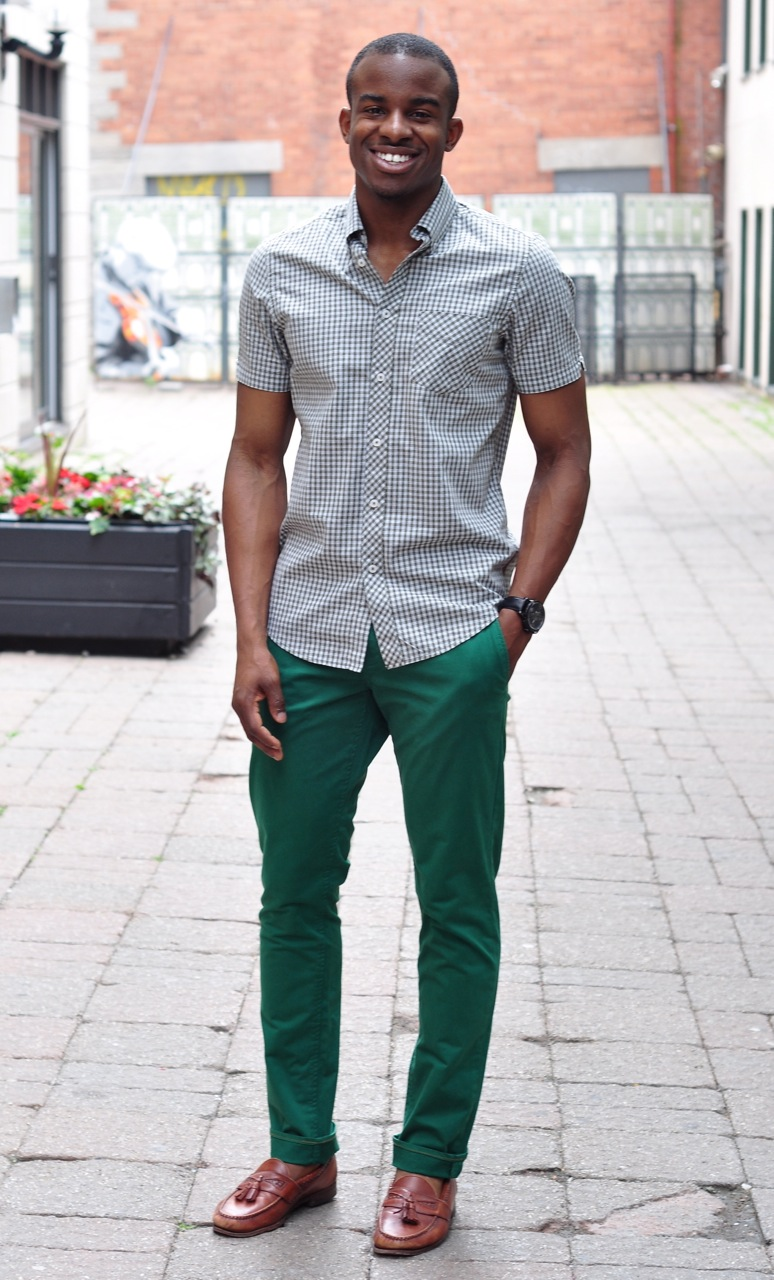 what colors go with green pants - Pi Pants