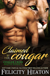 Claimed by Her Cougar by Felicity Heaton