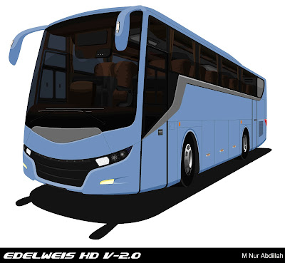 Design Bus Edelweis HD V-2.0 Blue