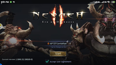 Review Game Nevaeh II : Era of Darkness