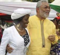Rawlings, Nana Konadu Celebrate Eid Al-Adha