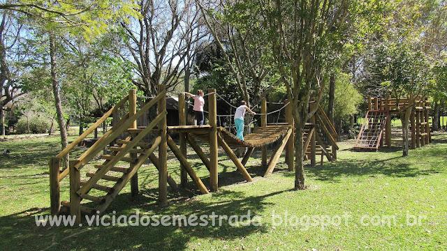 Parque junto à Vinícola Dal Pizzol