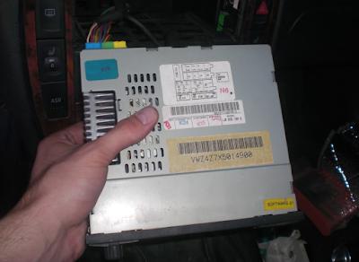 Wolkswagen Radio Code