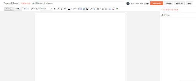 Editor laman mode Compose