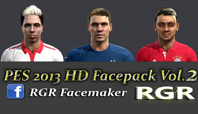 PES 2013 HD Facepack Vol.2 Rgr DS