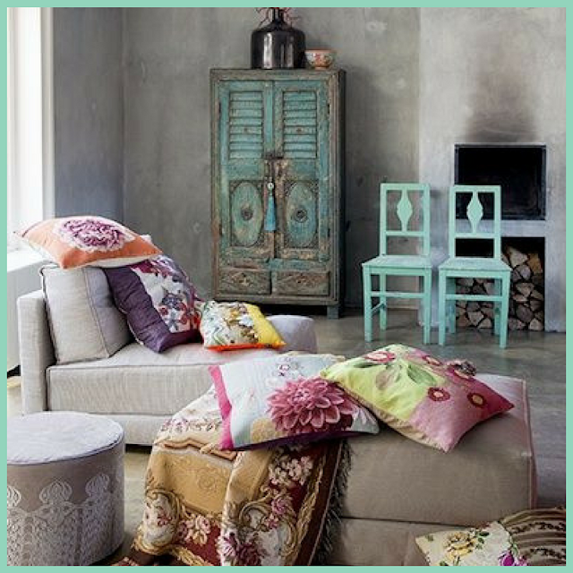 Ideas para una decoración Boho Chic-17