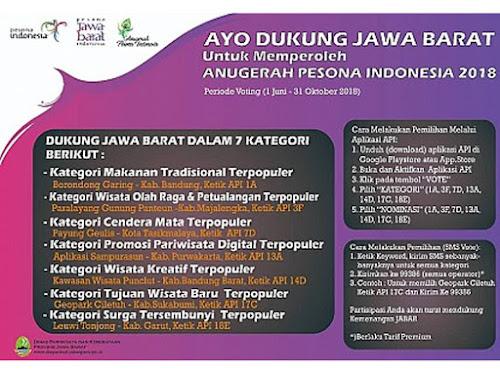 Anugerah Pesona Indonesia 2018