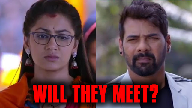Abhi Pragya miss to meet Prachi & Rhea turn connecting link in Kumkum Bhagya