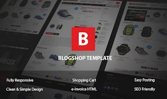 Download Blogshop Blogger Templates