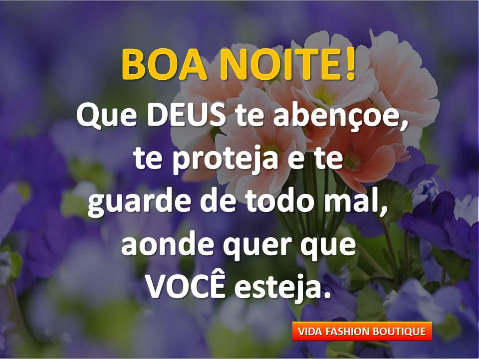 Boa Noite Que Deus Te Proteja