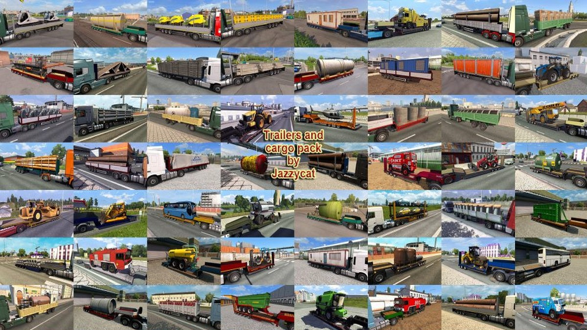 Jazzycat – Trailers and Cargo Pack 7.1